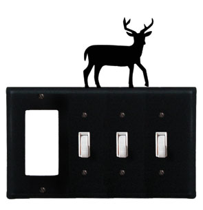 Deer - Single GFI and Triple Switch Cover