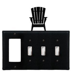 Adirondack - Single GFI and Triple Switch Cover