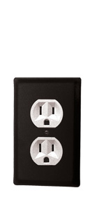 Plain - Single Outlet Cover