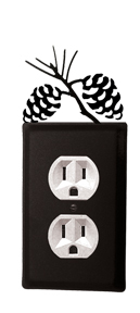 Pinecone - Single Outlet Cover