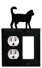 Cat - Single Outlet and GFI Cover