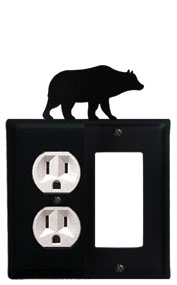 Bear - Single Outlet and GFI Cover