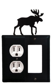 Moose - Single Outlet and GFI Cover
