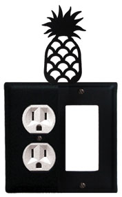 Pineapple - Single Outlet and GFI Cover