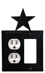 Star - Single Outlet and GFI Cover
