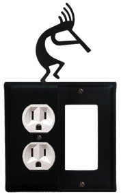 Kokopelli - Single Outlet and GFI Cover