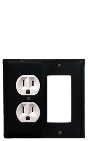 Plain - Single Outlet and GFI Cover