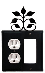 Leaf Fan - Single Outlet and GFI Cover
