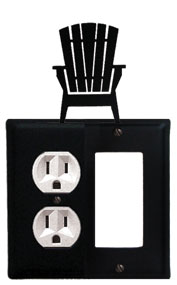 Adirondack - Single Outlet and GFI Cover