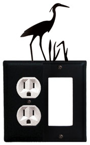 Heron - Single Outlet and GFI Cover