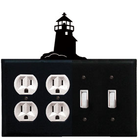 Lighthouse - Double Outlet and Double Switch Cover