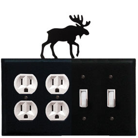 Moose - Double Outlet and Double Switch Cover