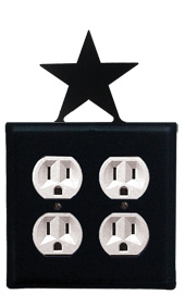 Star - Double Outlet Cover