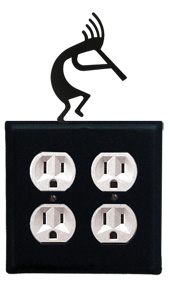 Kokopelli - Double Outlet Cover