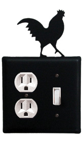Rooster - Single Outlet and Switch Cover