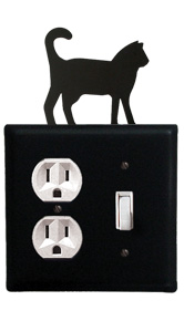 Cat - Single Outlet and Switch Cover