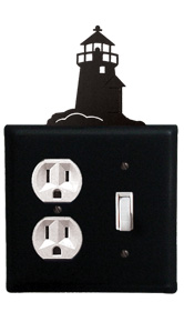 Lighthouse - Single Outlet and Switch Cover