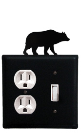 Bear - Single Outlet and Switch Cover