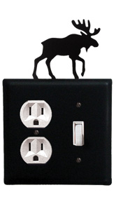 Moose - Single Outlet and Switch Cover