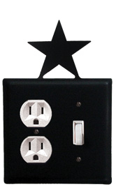 Star - Single Outlet and Switch Cover