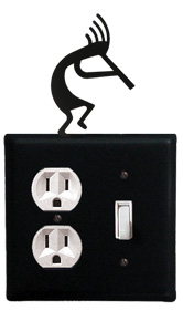 Kokopelli - Single Outlet and Switch Cover