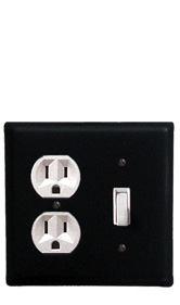 Plain - Single Outlet and Switch Cover