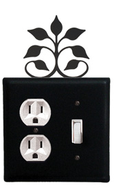 Leaf Fan - Single Outlet and Switch Cover