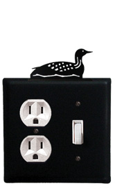 Loon - Single Outlet and Switch Cover