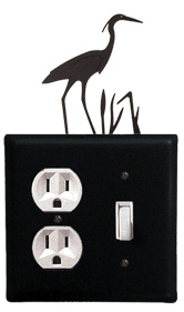 Heron - Single Outlet and Switch Cover