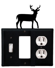 Deer - Single Switch, GFI and Outlet Cover