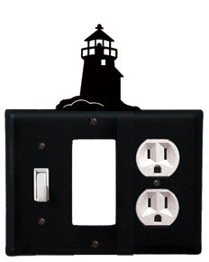 Lighthouse - Single Switch, GFI and Outlet Cover