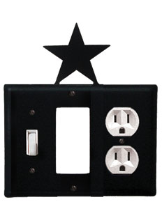 Star - Single Switch, GFI and Outlet Cover