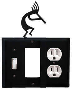 Kokopelli - Single Switch, GFI and Outlet Cover