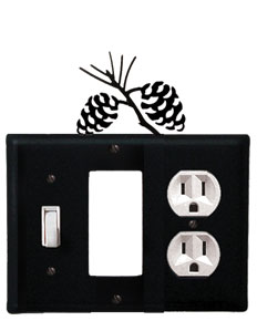 Pinecone - Single Switch, GFI and Outlet Cover