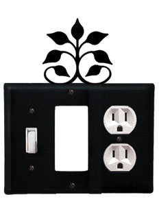 Leaf Fan - Single Switch, GFI and Outlet Cover