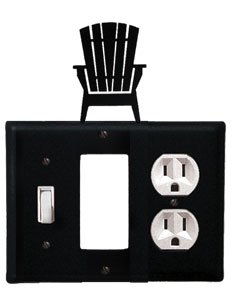 Adirondack - Single Switch, GFI and Outlet Cover