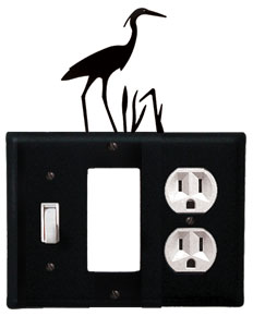 Heron - Single Switch, GFI and Outlet Cover