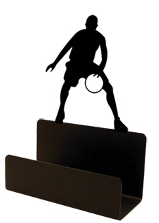NO LONGER AVAILABLE  -  Basketball Player - Business Card Holder