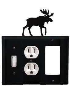 Moose - Single Switch, Outlet and GFI Cover - CUSTOM Product - If Out Of Stock, Allow 4 to 6 Weeks