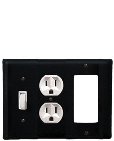 Plain - Single Switch, Outlet and GFI Cover - CUSTOM Product - If Out Of Stock, Allow 4 to 6 Weeks