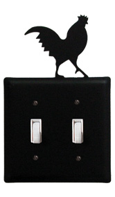 Rooster - Double Switch Cover