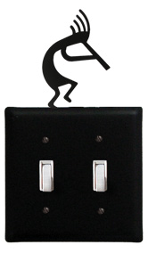 Kokopelli - Double Switch Cover