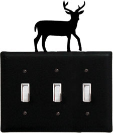 Deer - Triple Switch Cover