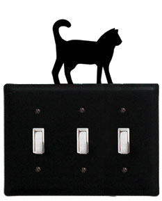 Cat - Triple Switch Cover