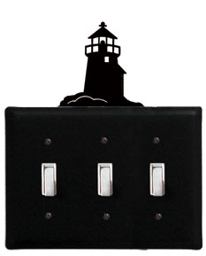Lighthouse - Triple Switch Cover