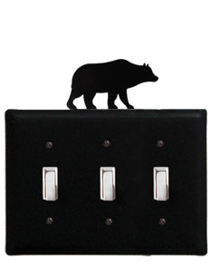 Bear - Triple Switch Cover