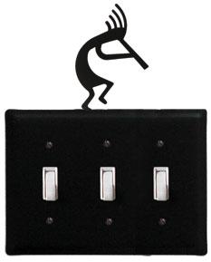 Kokopelli - Triple Switch Cover