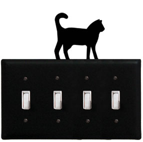 Cat - Quadruple Switch Cover