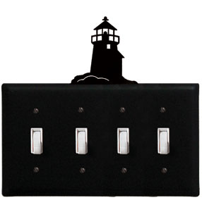 Lighthouse - Quadruple Switch Cover