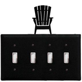 Adirondack - Quadruple Switch Cover